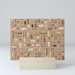 galletitas rojo Mini Art Print