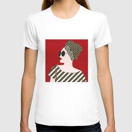 A black woman in sunglasses11 T-shirt