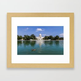 Washington State Senate  Framed Art Print