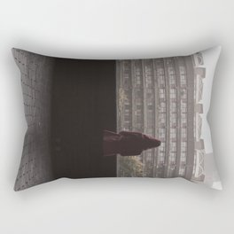 always watching... Rectangular Pillow