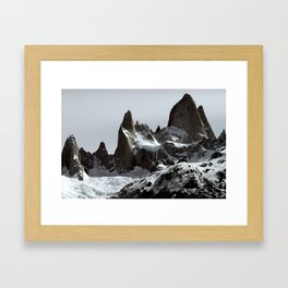 mountains of Patagonia Framed Art Print