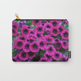 Vibrant Flowers Carry-All Pouch