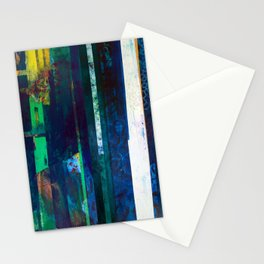 Concrete Poems I-IV High Resolution Stationery Cards