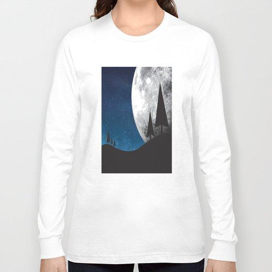 Moonlight Silhouette Long Sleeve T-shirt