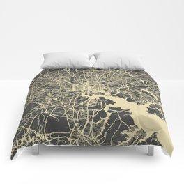 Baltimore map Comforters