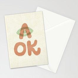 A OK Stationery Cards