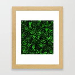 Abstract Botanical Garden IV Framed Art Print