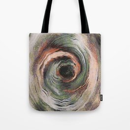 Whirl Abstract Tote Bag