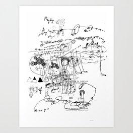 Codex Chaos series (3) Art Print
