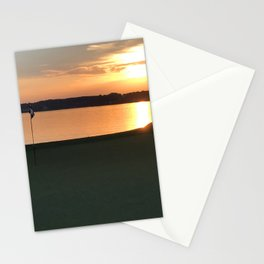 11 at Sunset Stationery Cards