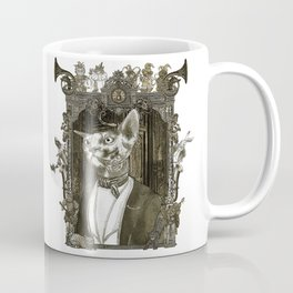 Steampunk Mr. Sphinx Coffee Mug
