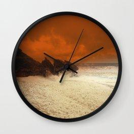 Sea Foam & Rough Seas Wall Clock