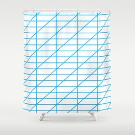 The Calligrapher Shower Curtain