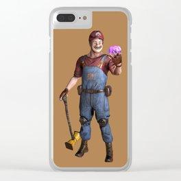 CustoMario Clear iPhone Case