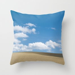 BETWEEN EARTH AND SKY 1 Throw Pillow