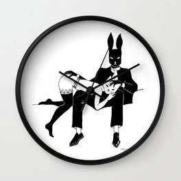 Master and servant Wall Clock