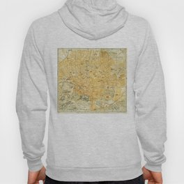Vintage Map of Athens Greece (1894) Hoody