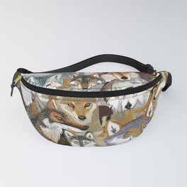 Wolves o´clock ( Time to Wolf ) Fanny Pack