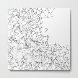 Minimalist origami Metal Print