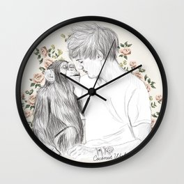 Louis and the chimp Wall Clock