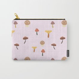 Mushroom Pop Print Carry-All Pouch