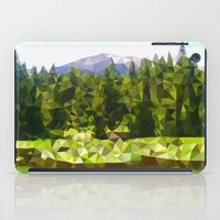forrest iPad Cases featuring Forest Green by IvanaW