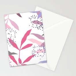 Cut leaves Stationery Cards
