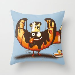 Chocossant Throw Pillow