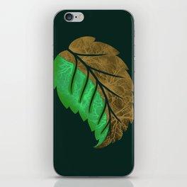 Drying Leaf iPhone Skin
