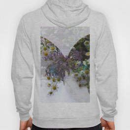 Beautiful floral butterfly Hoody