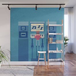 The electronic musician Wall Mural
