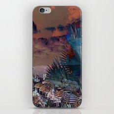 Beach Day - Umbrellas - Ocean iPhone & iPod Skin