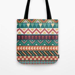 Southwestern Pattern Tote Bag