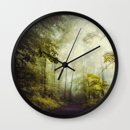 Glorious Woods Wall Clock