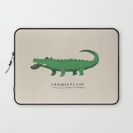 croc cannibalism Laptop Sleeve