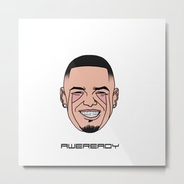Paul Wall Metal Print