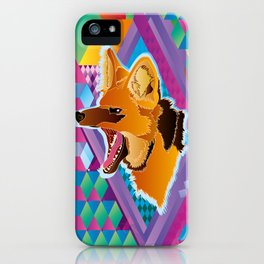 Lobo-guará (Maned wolf) iPhone Case