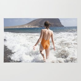 Vacation Postcard Rug