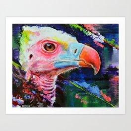 Vulture Colors Art Print