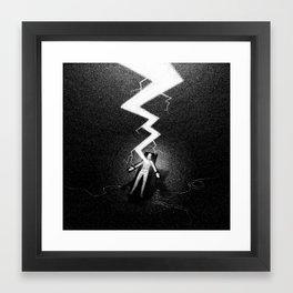 Drawlloween 2016: Frankenstein Framed Art Print