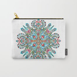 The middle of the Earth mandala Carry-All Pouch