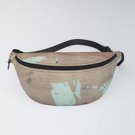 Wooded shipboard repairing Fanny Pack