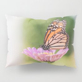 Monarch and a Zinnia Pillow Sham