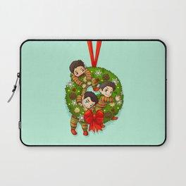 Christmas chibis Laptop Sleeve