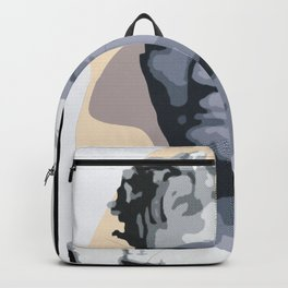 Colored Greek / Roman bust Backpack