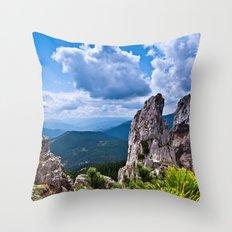 Nature love #landscape Throw Pillow