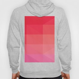RED Abstract Art Hoody