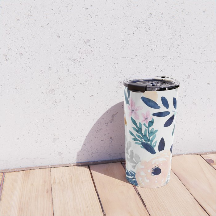 Jolene Floral Travel Mug