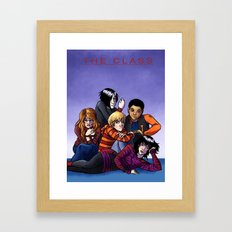 The Class Breakfast Club Framed Art Print