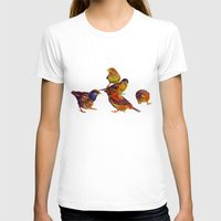 takmaj T-shirts featuring Sparrows by takmaj
